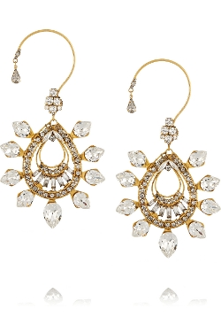 Erickson Beamon - Swarovski Crystal Earrings