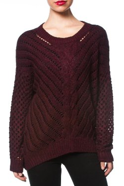 Shoptiques - Oversized Cable-Knit Sweater