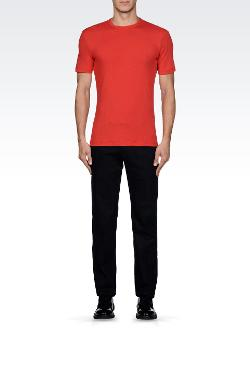 Armani Collezion - Cotton Jersey Crew-neck T-shirt