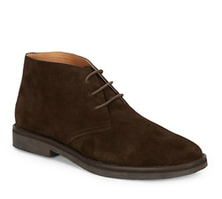 Saks Fifth Avenue - Plain-Toe Suede Chukka Boots