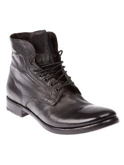 Premiata  - Distressed Ankle Boot