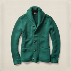 Ralph Lauren RRL - Wool Shawl-Collar Cardigan