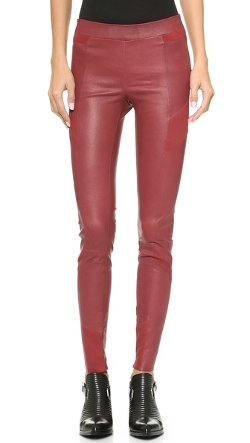 ElevenParis  - Fritz Stretch Leather & Suede Pants