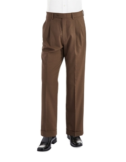 Lauren Ralph Lauren - Mid-Weight Pleated Wool Trousers