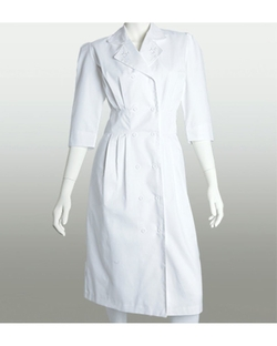 Barco Uniforms - Embroidered Button Front Dress