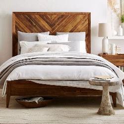 Alexa  - Reclaimed Wood Bed