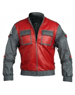 American Leather Jacket - Marty McFly Jacket