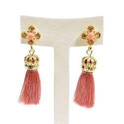 Cuple - Statement Tassel Dangle Drop Earrings
