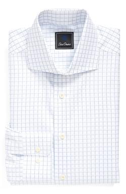 David Donahue - Regular Fit Check Dress Shirt