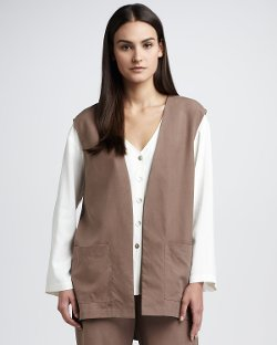 Go Silk - Long Silk Vest