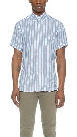 Hamilton 1883 - Short Sleeve Linen Shirt