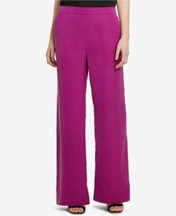 Lauren Ralph Lauren  - Charmeuse Wide-Leg Pants