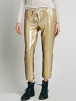 Free People  - Scintilating Sequin Jogger