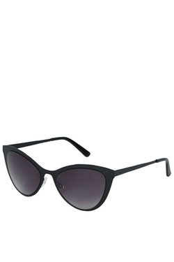 Topshop - Flat Metal Cateye Sunglasses