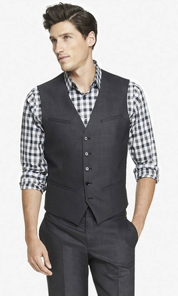 Express - End-On-End Suit Vest