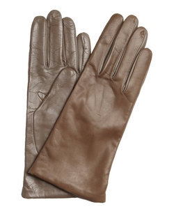 All Gloves - Taupe 2-Tone Leather ITouch Tech Gloves