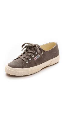 Superga - 2750 Waxed Suede Sneakers