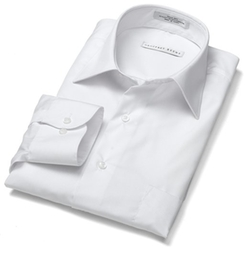 Geoffrey Beene - Spread Collar Cool & Dry Broadcloth Woven Shirt