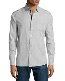 Rag & Bone - Long Sleeve Sport Shirt