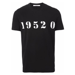 Givenchy - Numbers Print T-Shirt