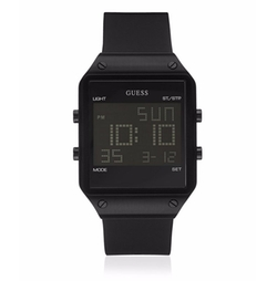 Guess - Trend Digital Silicone Strap Watch
