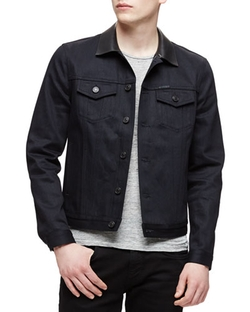 Burberry Brit - Dark Denim Trucker Jacket