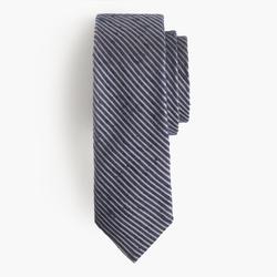 J.Crew - Microstripe Textured English Silk Tie