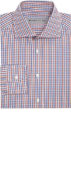 ETRO  - Plaid Poplin Shirt