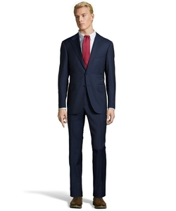 Canali - Pinstriped Wool 2-Button Suit