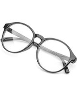 PenSee  - Frame Round Circle Clear Lens Glasses
