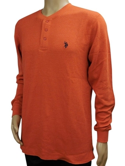 U.S. Polo Assn. - Thermal Henley Shirt