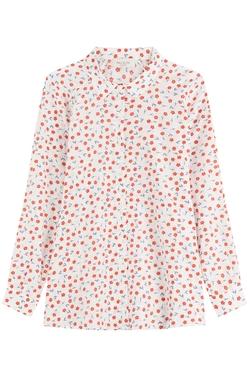 Paul & Joe   - Printed Cotton Silk Shirt