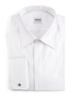 Armani Collezioni	 - Modern Fit Basic Formal Shirt
