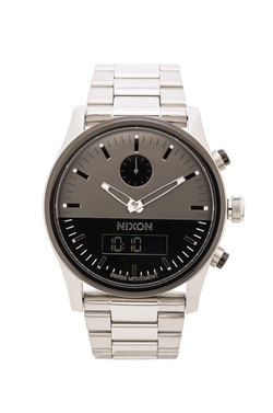 Nixon - Duo Stainless Steel Watch