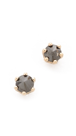 Blanca Monros Gomez - Little Black Diamond Stud Earrings