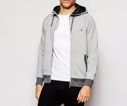Original Penguin - Zip Through Hoodie