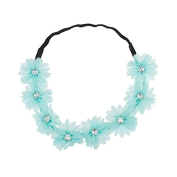 Lux Accessories - Lux Stretch Fit Floral Headband