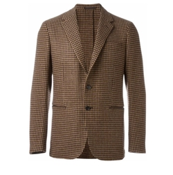 Caruso - Houndstooth Blazer