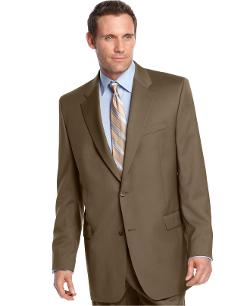 Ralph Lauren  - Jacket Tan Solid Big and Tall