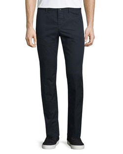 Burberry Brit  - Flat-Front Cotton Chino Pants