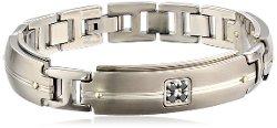 Edward Mirell  - Grey Titanium Bracelet
