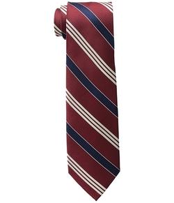 Lauren by Ralph Lauren -  Twillsatin Striped Silk Twill Tri-Tie