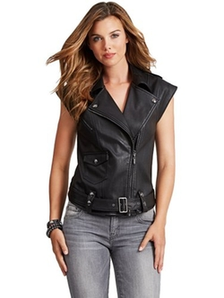 Guess - Cap-Sleeve Drop-Shoulder Vest