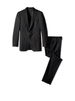 Ermenegildo Zegna  - Solid Notch Lapel Suit
