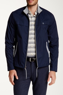 Original Penguin  - Nylon Windbreaker Jacket