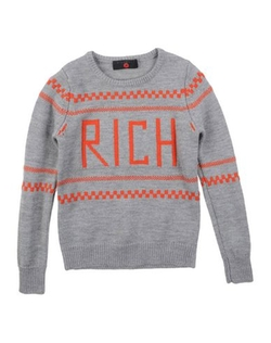 Richmond Jr - Round Collar Sweater