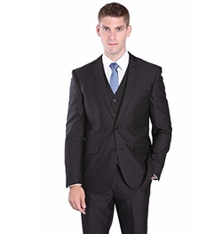 House of St. Benets - 3-Piece Slim Fit Suit