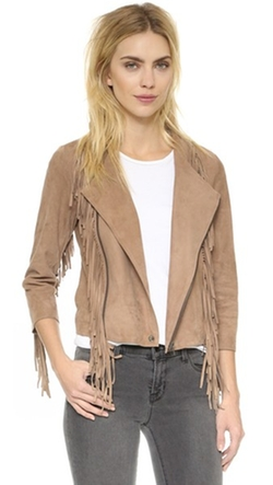Cleobella - Everly Suede Fringe Jacket