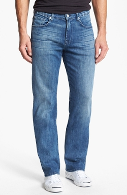 7 For All Mankind - Relaxed Straight Leg Jeans