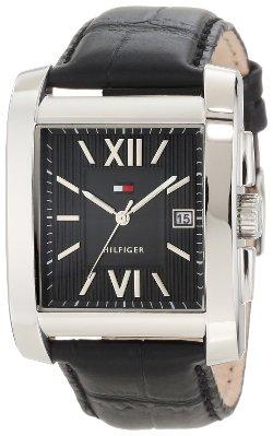 Tommy Hilfiger - Tank Roman Numeral Enamel Watch